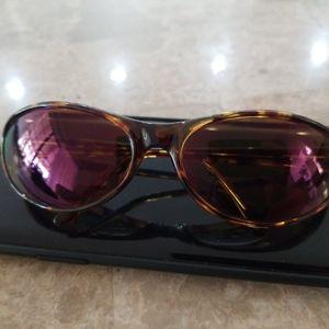 Vintage revo Extreme Wrap Tortoise/Purple lenses